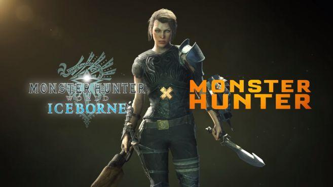 Podrás usar a Milla Jovovich en Monster Hunter World como personaje